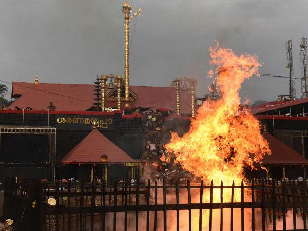 ಮತ್ತೆ ರಣರಂಗವಾದ ಶಬರಿಮಲೆ: 70 ಕ್ಕೂ ಹೆಚ್ಚು ಜನ ಪೊಲೀಸ್ ವಶಕ್ಕೆ