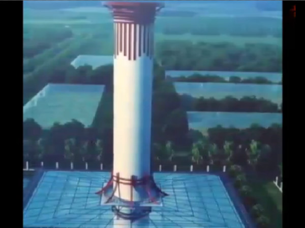 China Builds Tallest Air Purifier To Combat Pollution