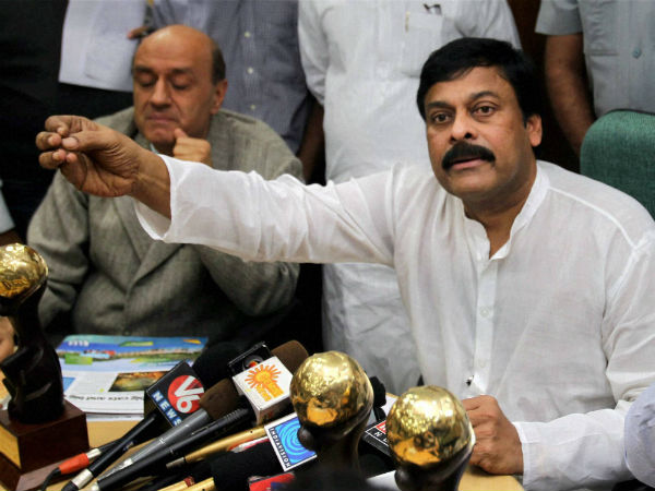 Upset with TDP tie-up, Chiranjeevi likely too quit Congress?