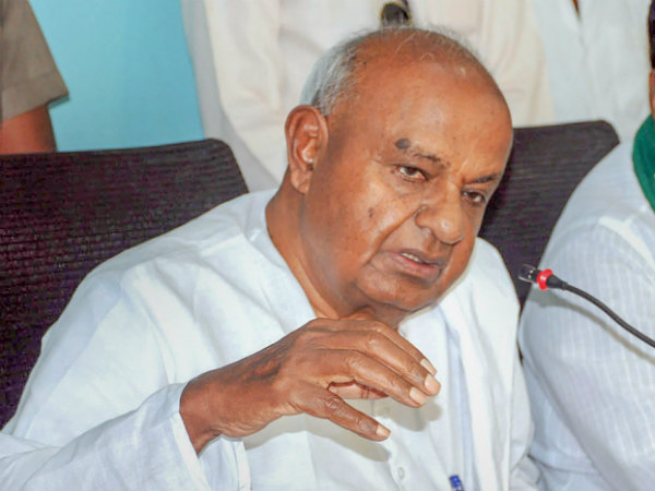 All farmer loan waivers are meaning less: HD Deve Gowda