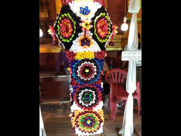 ಚಿತ್ತಾಕರ್ಷಕ ಗೂಡು ದೀಪ ಸ್ಪರ್ಧೆ ನೋಡಲು ಹರಿದುಬಂತು ಜನಸಾಗರ