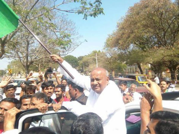 Deve Gowda statue to be set up in Channapatna
