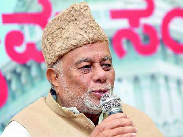 Former union minister Jaffer Sharief no more