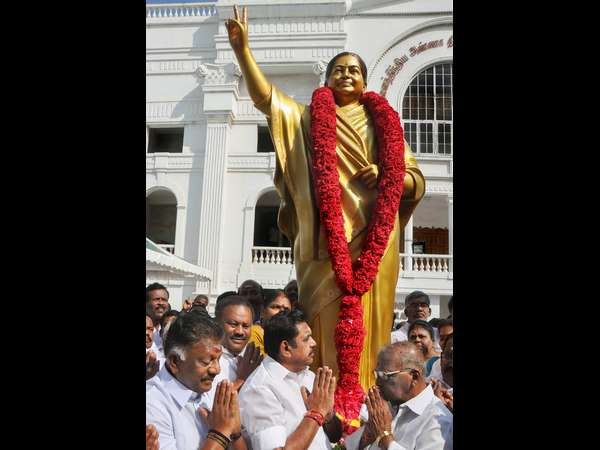 jayalalithaas new statute replaces the older statute that not resembles her