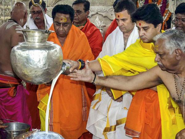 ರಾಹುಲ್ ಗಾಂಧಿಯದು 'ಫ್ಯಾನ್ಸಿ ಡ್ರೆಸ್ ಹಿಂದುತ್ವ': ಬಿಜೆಪಿ ಲೇವಡಿ