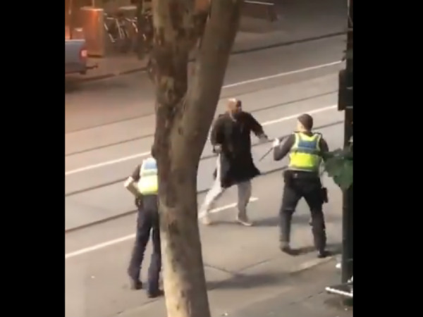 Three people stabbed by unknown person in Melbourne