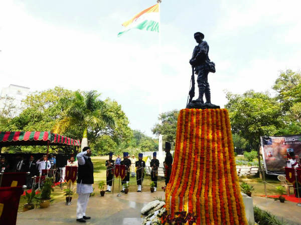Martyrs stones will be shifted military memoire
