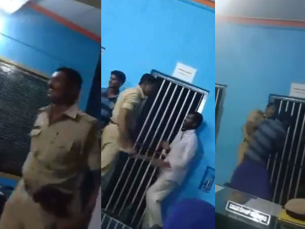 Bethamangala Police Station PSI inquiry in Telugu cinema style