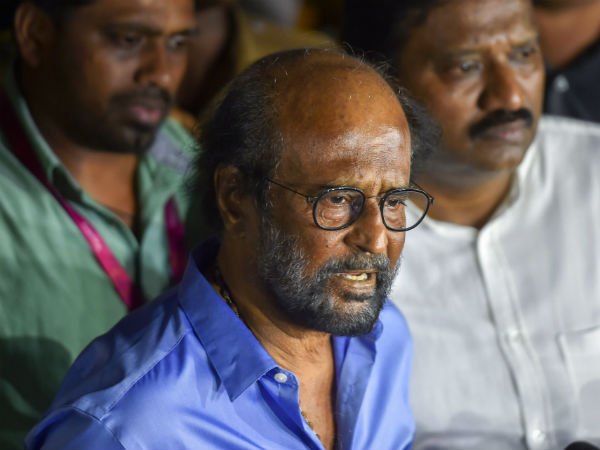 Censor board cleared Sarkar movie: Rajinikanth Slams AIADMK Protest