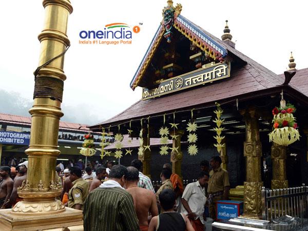 ಮಂಡಲ ಪೂಜೆಗಾಗಿ ಬಾಗಿಲು ತೆರೆದ ಶಬರಿಮಲೆ ದೇವಾಲಯ
