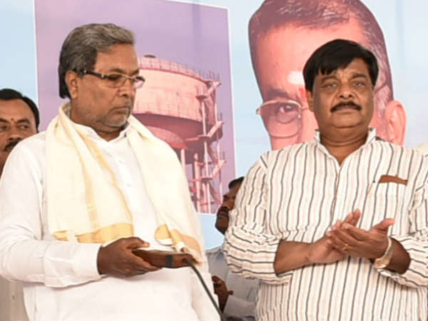 Mahadevappa Said No variance between me and Siddaramaiah