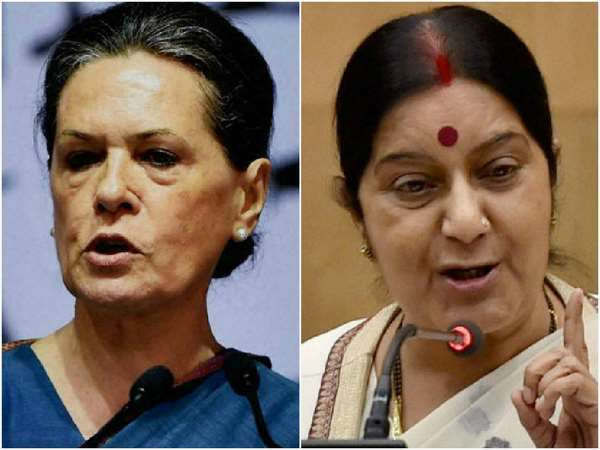 Bellary Congress Victory Reminds Sonia Sushma Fight In 1999