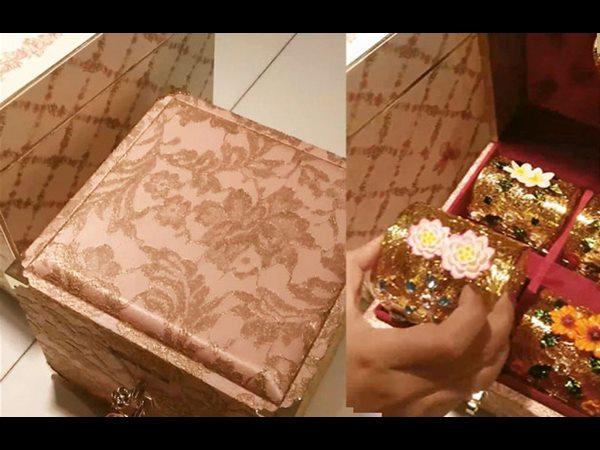 Mukesh Ambani Daughters Royal Wedding Card