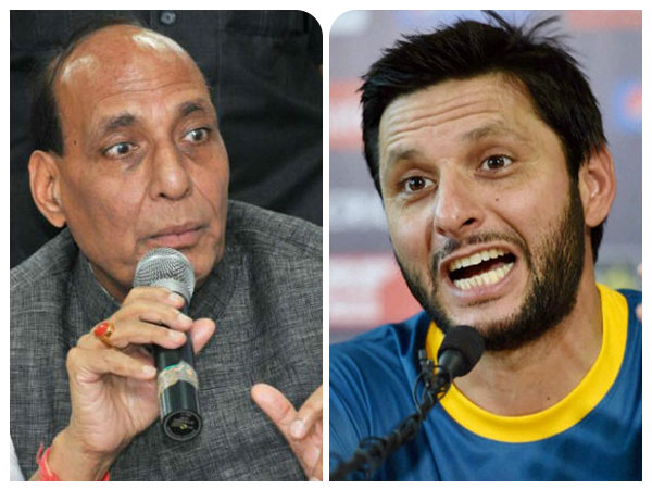 He is right, home minister Rajnath Singh on Afridi's remark Pak doesn't need Kashmir
