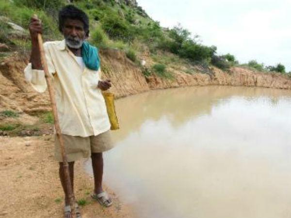 ಲಕ್ಷ ರೂಪಾಯಿ ಪ್ರಶಸ್ತಿ ಹಣವನ್ನು 'ಕೆರೆಗೆ ಚೆಲ್ಲಲಿರುವ' ಮಂಡ್ಯದ ಕಾಮೇಗೌಡರು