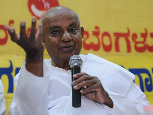 I was also an accidental prime minister, said Deve Gowda