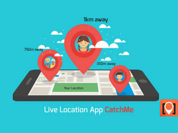 Catch the CatchMe app for Family safety