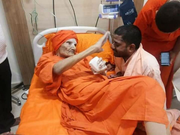 Shivakumar Swamiji to stay in Chennai hospital for one week