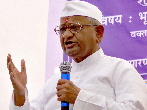 Anna Hazare will start hunger strike from Jan 30