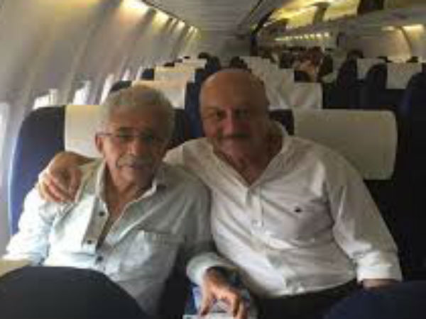 How much more freedom do you want: Anupam Kher to Naseeruddin Shah