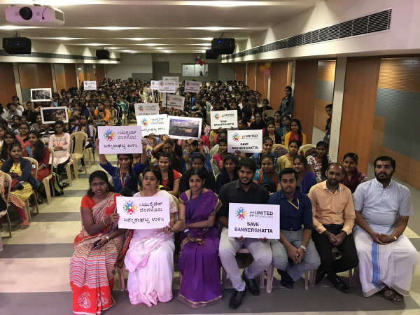 Students & faculty join the call to save Bannerghatta