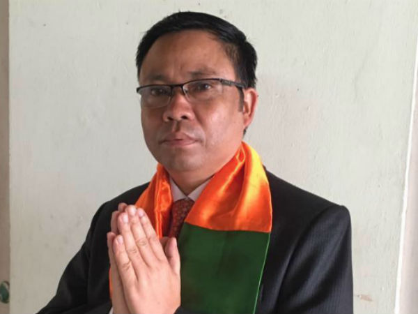First Victory To Bjp Former Mizoram Minister Buddha Dhan Chakma Win