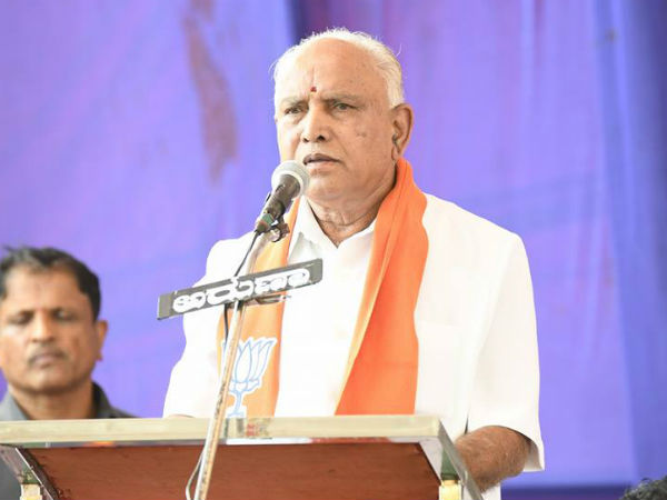 Yeddyurappa accepts bungalow offed by the Govt