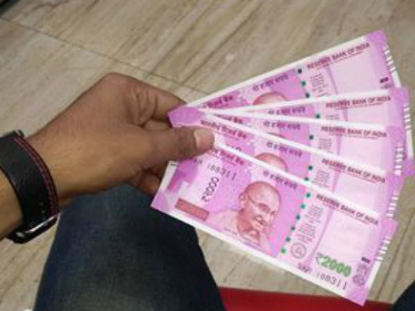 cic directed reveal numbers of 2,000 and 500 rs note printed in november 2016