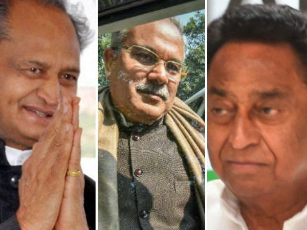 3 Congress CMs to be taking oath today