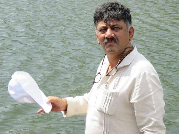 ಚಿತ್ರಗಳು : ಮೇಕೆದಾಟುಗೆ ಸಚಿವ ಡಿ.ಕೆ.ಶಿವಕುಮಾರ್ ಭೇಟಿ