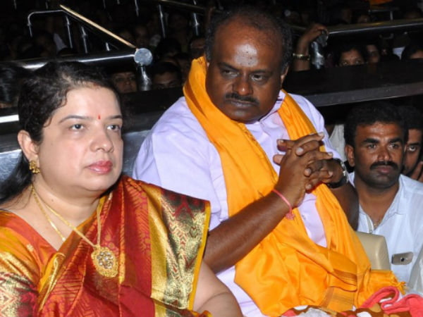 Hd Kumaraswamy Has Become Cm And Survived Due To Gods Grace