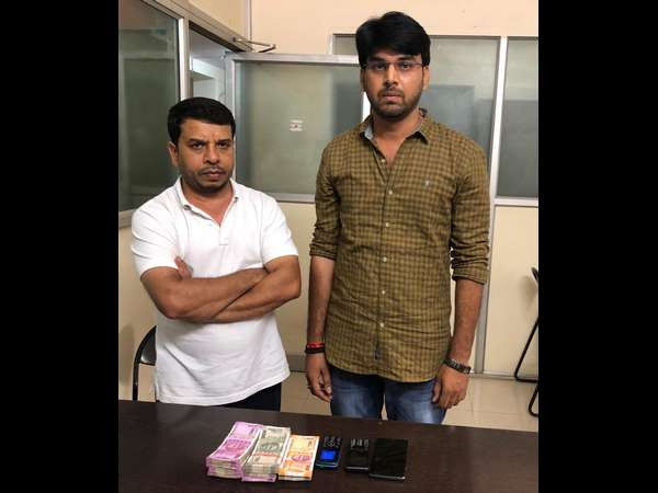 CCB raid on gambling points and sieze 16.43 lakh money