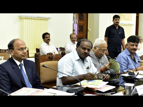Karnataka parliament members meeting in CM leadership