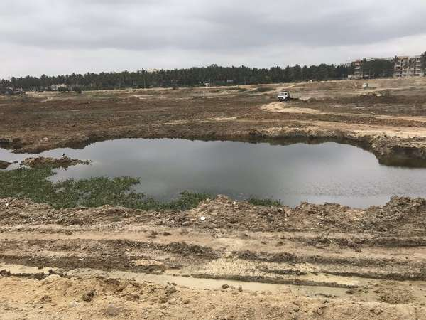 Authorities conduct joint survey on Agar lake encroachment