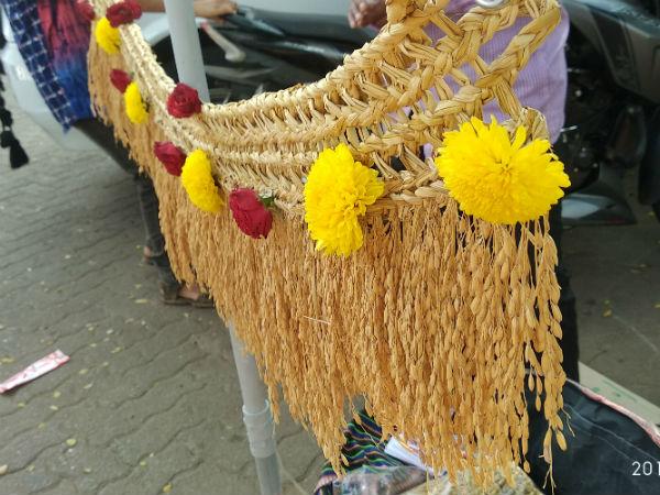 ಭತ್ತದ ತೋರಣ: ಗ್ರಾಮೀಣ ದೇಶಿ ಕರಕುಶಲ ಕಲೆಯ ಸೊಬಗು