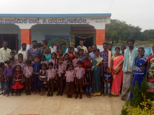 Interesting Story About Kannada Primary School Which Attracts Two State Children