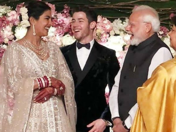 Priyanka Chopra reception Photo shared by PM Modi, got more than 10 lakh likes