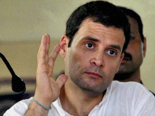 Keep an eye on EVMs after poll, Rahul suggests Congress workers
