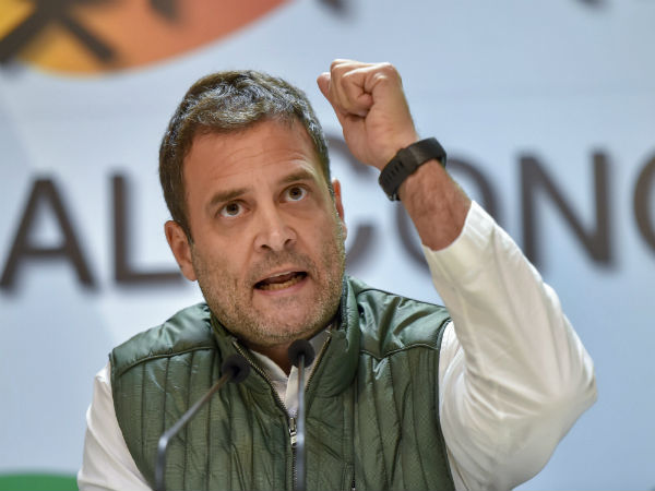 Congress will waive off farmers loan: Rahul Gandhi