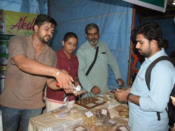 Dharmasthala Laksha Deepotsava 2018 Natural Ice Cream From Puttur