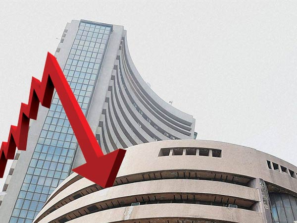 Sensex down 350 pts on poll outcome uncertainty, Patels exit
