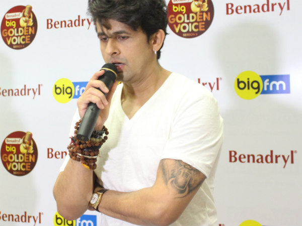 Sonu Nigam to judge Big FM Benadryl BIG Golden Voice Bengaluru