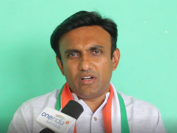 Cong MLA Dr Sudhakar clarified will not quit congress