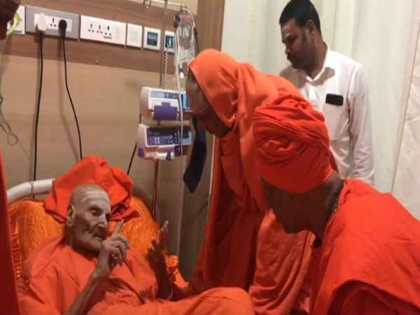Siddaganga Seers tolerated 4 hours operation in rela hospital