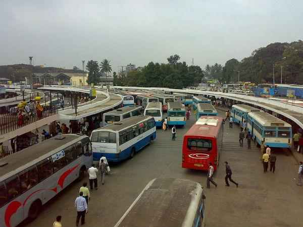 KSRTC and BMTC resumed its service after Bharat Bandh