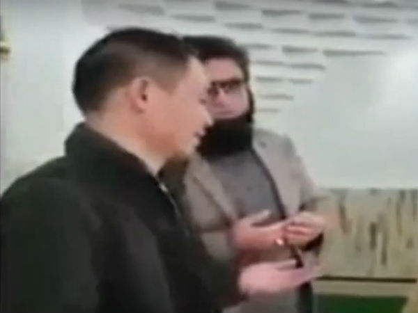 China man converted to Islam by Pakistan minister