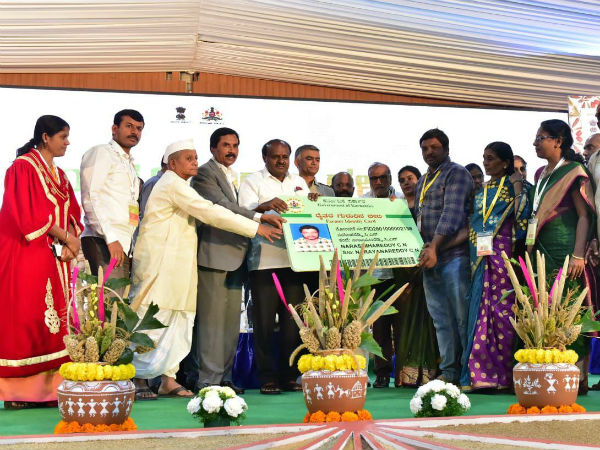 HD Kumaraswamy inaugurates bengaluru organic and millets international trade fair
