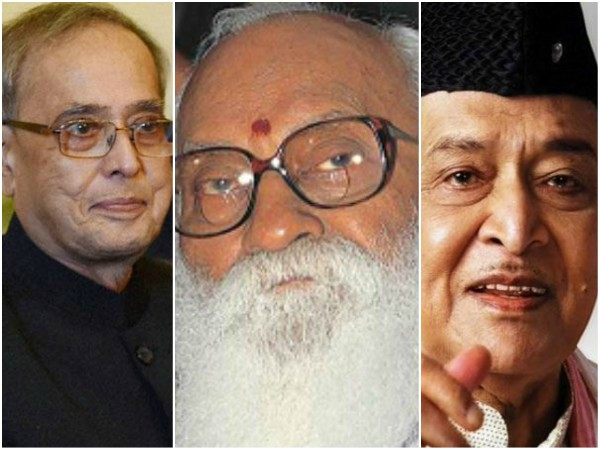 Nanaji Deshmukh, Bhupen Hazarika, Pranab Mukherjee conferred with Bharat Ratna: officials.