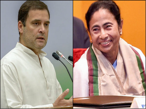 Rahul Gandhi Extend His Support To Mamata Banerjee
