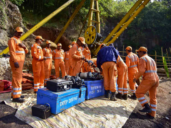 First body pulled out of Meghalaya mine after 42 days